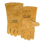 "Original ""BUCKTAN WIDE BODY"", welding glove, COMFOflex® lined and with premium quality cow split leather"