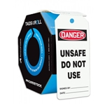 "Do Not Use Tags 5 7/8"" x 3 1/8"" 25/pack"