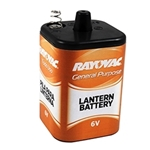 Industrial 6 Volt spring terminal battery