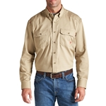 Ariat FR Solid Khaki Work Shirt