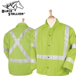 Safety Welding Jacket with FR Reflective Tape