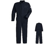 Striped 9 oz. Navy Classic FR Coverall