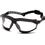 Isotope Clear H2MAX Anti-Fog Lens with Black Frame Safety Glass