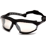 Isotope Grey H2MAX Anti-Fog Lens with Black Frame Safety Glass