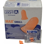 Max Small uncorded poly bag Coral  Earplugs 200/Box