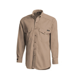 Workrite Mens Khaki FR Shirt