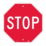 "12"" Octagon Stop Sign"