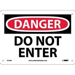 "12"" x 12 "" Do Not Enter Sign"