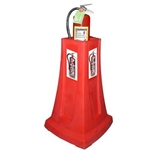 The Original FireMate Portable Fire Extinguisher Stand