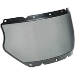 "MSA V-Gard® 8"" X 17"" Steel Mesh Faceshield"