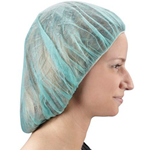 "Green 24"" Bouffant Cap"