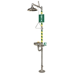 AXION® MSR Combination Corrosion Resistant Shower and Eye/Face Wash