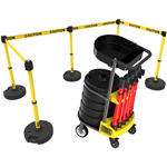 Portable Barricade Cart