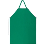 "Apron, .45mm PVC/polyester, 35"" x 48"", sewn edges, green"