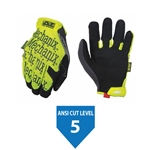 Mechanix Wear - The Original® E5 Cut Resistant Gloves, Hi-Vis Yellow
