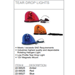 Low Profile Teardrop Strobe