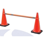 PVC Retractable Cone Bar 5'-9'