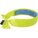 Chill-Its Cooling Bandana with Cooling Towel Lime