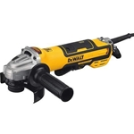 5 IN. Brushless Paddle Switch Small Angle Grinder With Kickback Brake, No-lock, Variable Speed