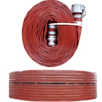 JGB Eagle Hose PVC Discharge Hose Assembly, Red