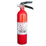 2.5 LB ABC Extinguisher with Vehicle Bracket