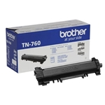Brother® TN-760 High-Yield Black Toner Cartridge