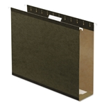 Extra Capacity Reinforced Hanging File Folders with Box Bottom