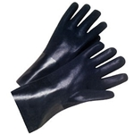 "12"" Interlock Lined PVC Rough Finish Glove"