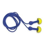 Express Pod Plugs corded w/ blue grips