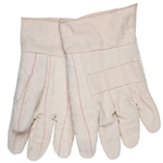 Hot mill gloves 32 oz. heavyweight & band top L