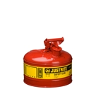 2.5-Gallon Steel Safety Can Red