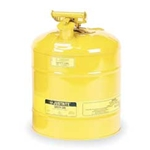 5-Gal. steel safety can Yellow