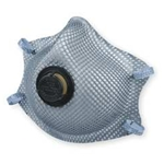 Particulate respirator w/ nuisance OV M/L
