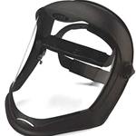 Bionic faceshield polycarbonate visor anti-fog/hardcoat Clear