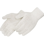 White String Knit Glove L