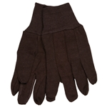 100% Cotton 9oz Brown Jersey Glove