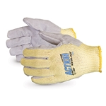 Action Kevlar Leather Palm Gloves