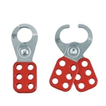 "1"" Red Lockout Hasp"
