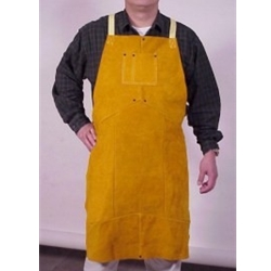 "Leather Welding Apron 30"" x 48"
