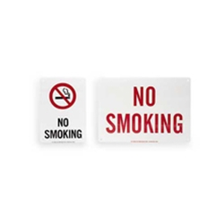 "No Smoking Sign 10"" x 7"""