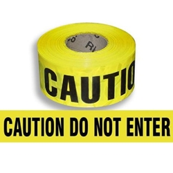 Caution: Do Not Enter Tape