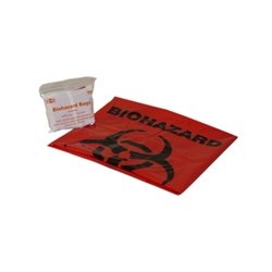 Biohazard Bag w/ Tie 1/Pack