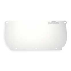 Clear Polycarbonate Faceshield for HCP-8