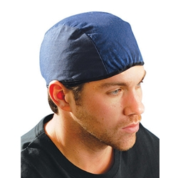 Cotton Navy Welding Beanie