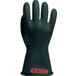 "11"" Class 0 Black Electrical Glove"