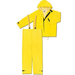 .35mm Yellow 2 Piece Hydroblast Suit