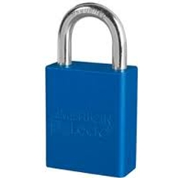 "1"" Lock Blue - Keyed Different"
