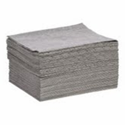 Gray Hazardous Spill Pads
