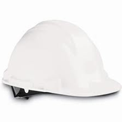 North White Hard Hat