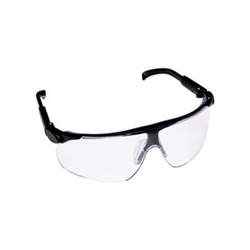 3M Maxim Clear Lens Black Frame Safety Glass 20/ Box